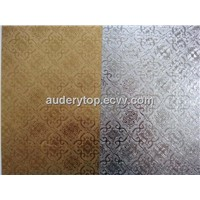 embossed aluminum foil paper for snack packing an cake drum