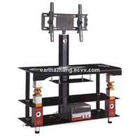 hot sell glass lcd tv stand xylts-030
