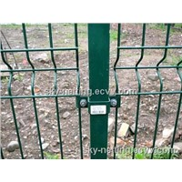 Steel Estate PVC Coated Welded Curved Mesh Paladin Fencing