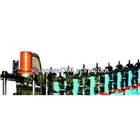 the guardrail plate forming machine