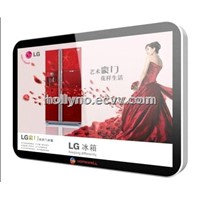 wall mounted lcd advertising player (stand-alone or network version)