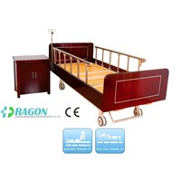 DW-BD187 Manual nursing hospital bed with 2 functions