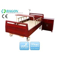 DW-BD188 Manual nursing adjustable bed with 2 functions