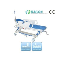 DW-TS002 Luxurious Manual Stretcher Cart