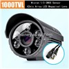 6 LEDs Array CMOS 1000TVL Security Camera Outdoor Waterproof CCTV Camera