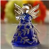 Beautiful Handmade Christmas Glass Angel Friend Gift Lamp Blown Craft Glass Angel Home Decoration
