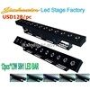 LED Light Wall Wash Effect LED Bar 12pcs 12W 5IN1 RGBWA/LED Par Light /Stage Light/Dj/Disco