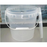 10Kg Plastic  Clear Bucket ,Plastic Pail with Lid ,PP Bucket