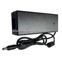 24v3.5a 84W power adapter(UL CUL GS KC CE CB PSE SAA ROHS C6 C8 C14 coupler 5.5x2.1 DC connector)