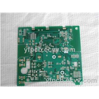 2 Layers 1.0mm Board Thickness PCB with Gold Plating