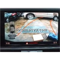 Audi Q5 reverse camera with built-in IPAS