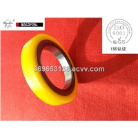 Bonded rubber spacers