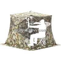 Camo Pattern Hub Style Ground Blind