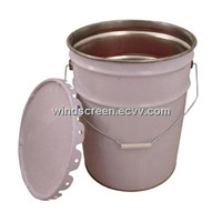 Empty Paint bucket,round can,tinplate can for paint