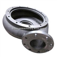 Grey iron casting pump body