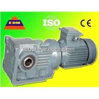Helical Bevel Gear Speed Reducer Motor( K right angle shaft)