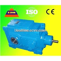 Helical Bevel Spiral Gearbox Speed Reducer(B Right-angle Shafts)
