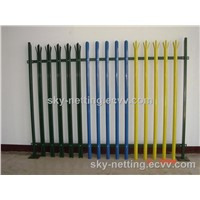 Higher Level of Security and Vandal Resistance Palisade Fencing