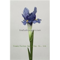 Iris Silk Flower Stem, Artificial Flowers