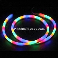 LED 360 degrees round neon flex-RGB-24V