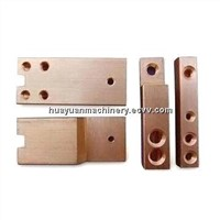 Metal Stamping Parts, Made of Brass, OEM Orders are Welcome