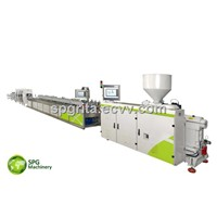 PVC Energy Saving Extrusion Line/Performance Profile Extrusion Line