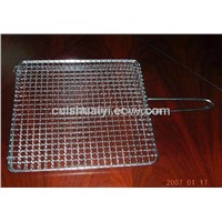 Square Barbecueds Grill Netting