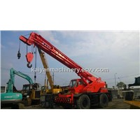 Used KATO KR-25H-IIIL, KATO 25ton, Rough Terrain Crane In Good Condition