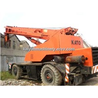 Used Kato 50ton NK50E-v Rough Terrain Crane Original Paint/ Original Japan Ready for Work