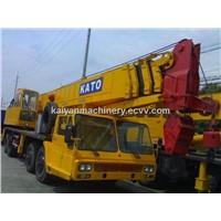Used Kato Truck Crane KATO NK1200 Original Japan with High Quality/ Ready to Work