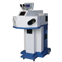 100W Gold Ring Laser Spot Welding Machine