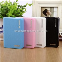12000mAh portable power bank recharge for mobile ipod iphone