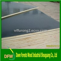 1220*2440*18mm black film faced plywood