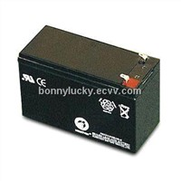 12V7.2Ah  battery for security system