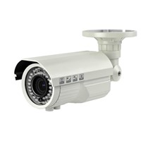 "1/2.5"" CMOS IP66 Waterproof Bullet HD IP Camera / 1.3MP 920P Zoom WDR network camera"