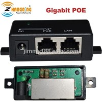 1port gigabit passive poe injector