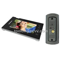 Touch Screen Recordable 7inch Camera Doorphone