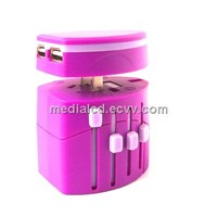 2013 Hot Selling Universal World Travel Adaptor with Elegant Design For Promotional Gifts