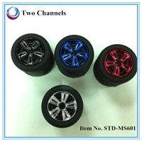 2014 new super quality bluetooth speaker ,tire bluetooth 2.1 speaker with TF card mic