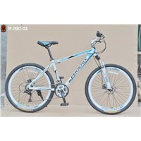 "26""x1.95 alloy frame shimano 21 speed phoenix mountain bike"