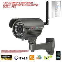 2.8-12mmVarifocal outdoor ,2 megapixel ,digtal wireless P2P ip camera