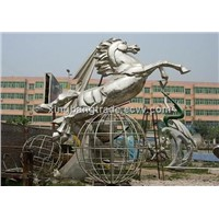 #304 stainless steel sculpture
