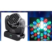 36pcs 3W RGB beam moving head light