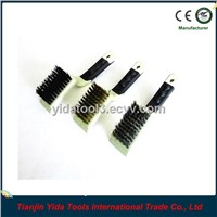3 pc.mini hand wire brush set