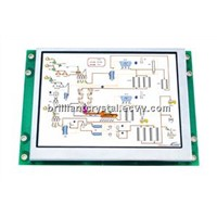 4.3 inch tft smart terminal lcd display module support RS232, RS485, USART (3.3V TTL) interfaces