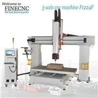 4 axis wood engraving machine