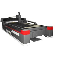 500W Thin Metal Sheet Fiber Laser Cutter