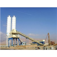 60m3/h belt type ready mixed concrete batching plant for sale