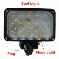 6 inch 45W Combo Work Light Spot Light Flood Light Combo Light