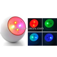 7 Color Changing Living Color Light with FM Radio and Speaker